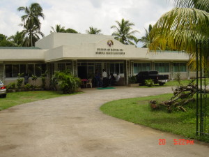 Driveway to Clinic Entrance